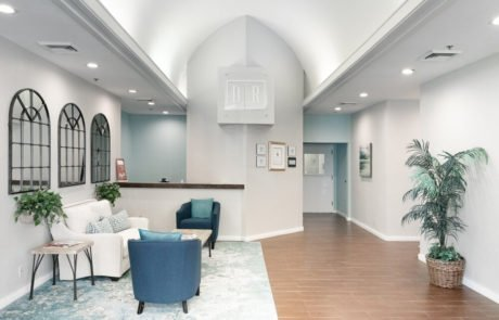 Desert Rose Recovery - Clinical Offices for addiction rehab center and mental health treatment interior