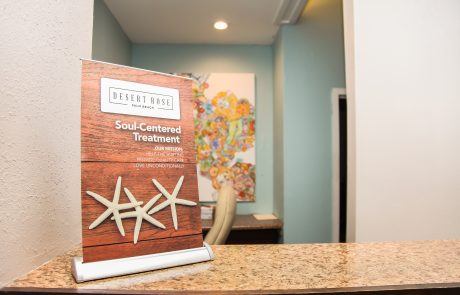 Front Desk at Desert Rose Recovery Centers