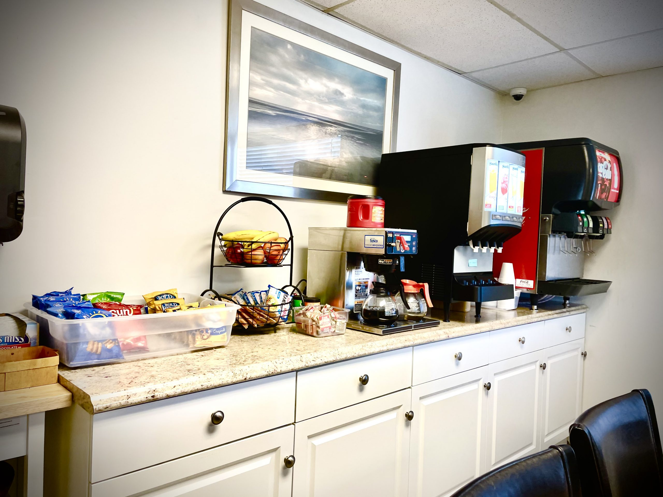 Snack Area at Desert Rose Recovery Detox